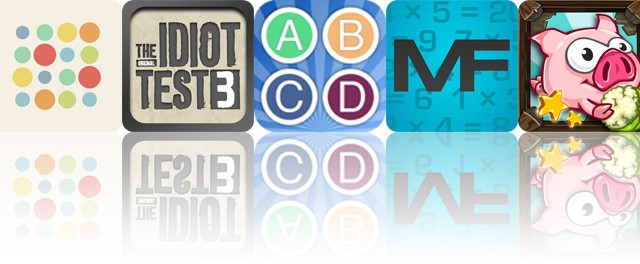 Today's apps gone free: GREG, The Idiot Test 3, Alphabet Game and more