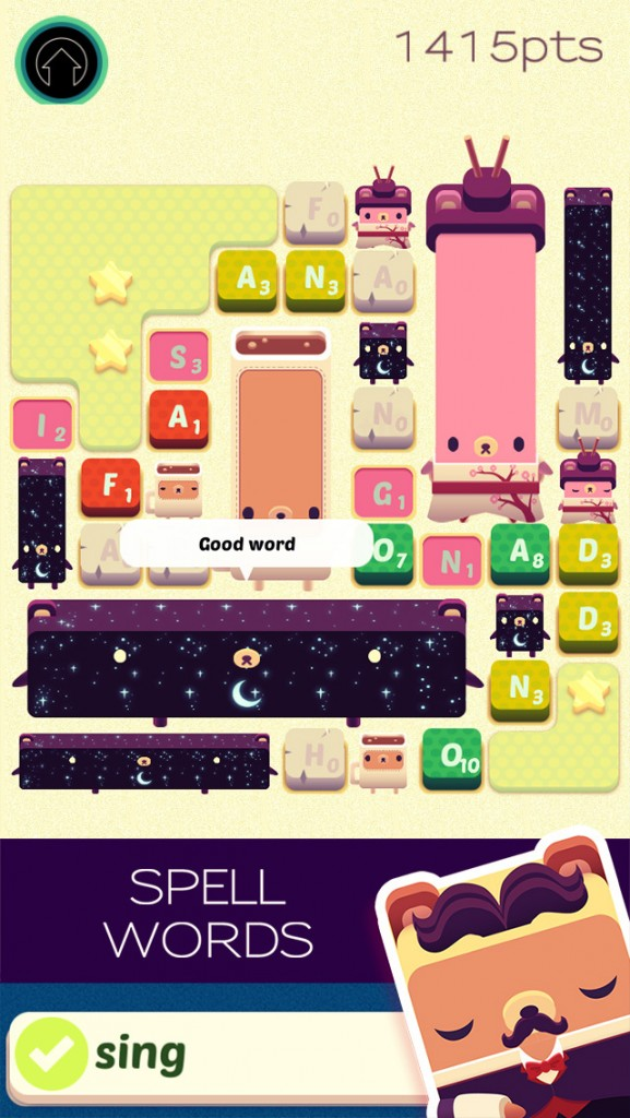 Alphabear Word Game Puzzle