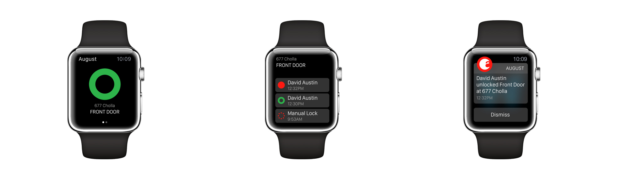 You can now operate an August Smart Lock from the Apple Watch