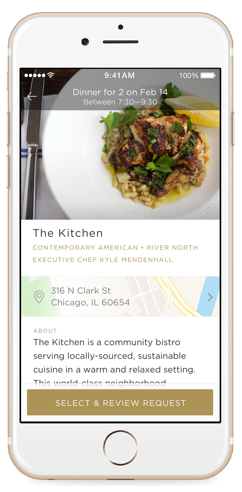 Let The Concierge Reserve That Table For You - Table reserve app