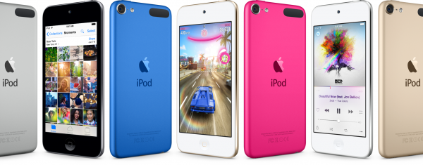 Apple unveils new iPods, including gold color options