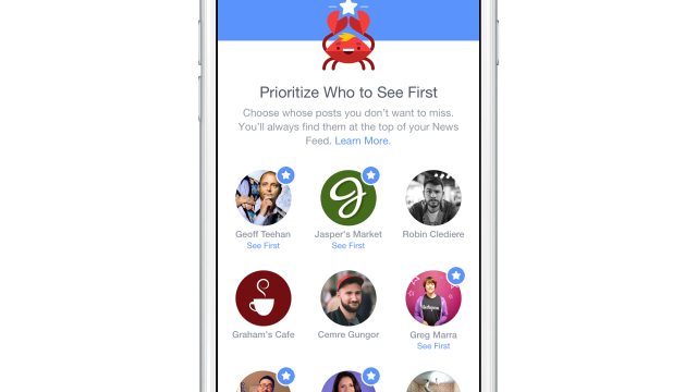 Finally, your Facebook News Feed your way