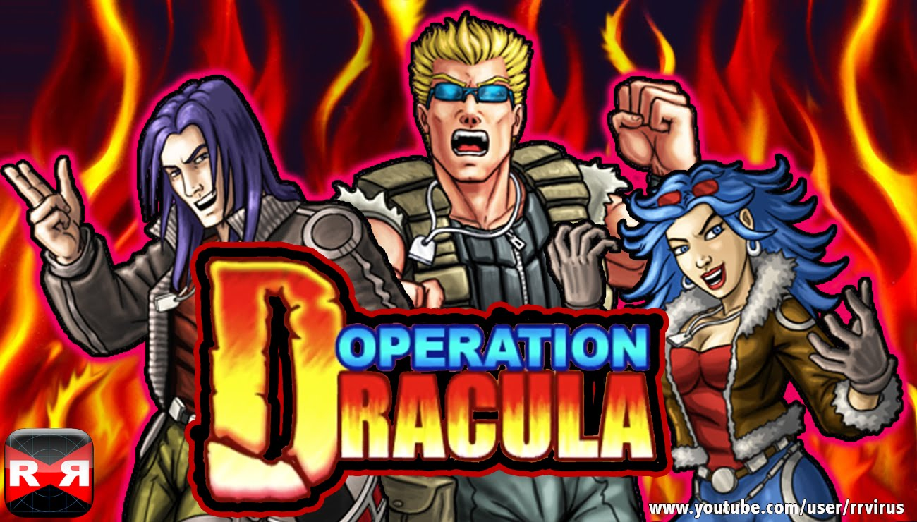 Fire through flying armies and vampires in Operation Dracula