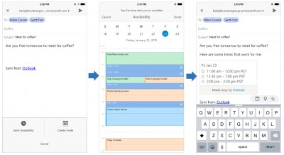 Microsoft's Office for iOS now plays nice with Outlook