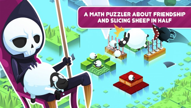 Divide By Sheep is a new math puzzler that equates to fun