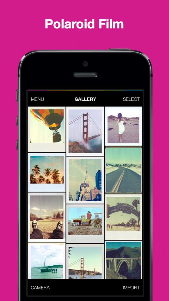 Polamatic gives your photos some Polaroid flair