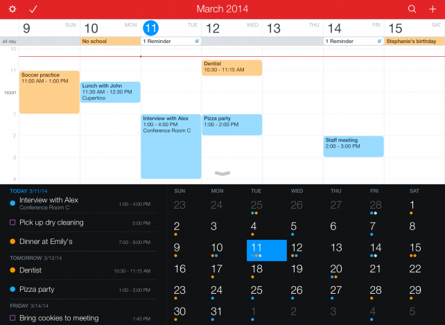 Fantastical 2 gains 3D Touch, multitasking and more