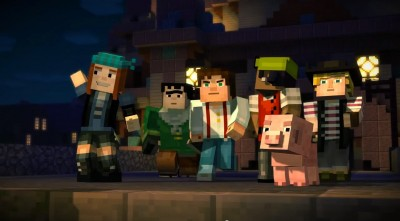 Marvel at the first trailer for Minecraft: Story Edition