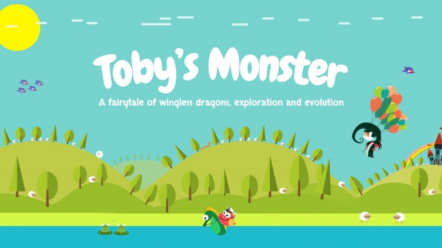 Toby's Monster - Half-Sheet