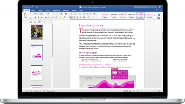 Microsoft Office 2016 for the Mac officially arrives