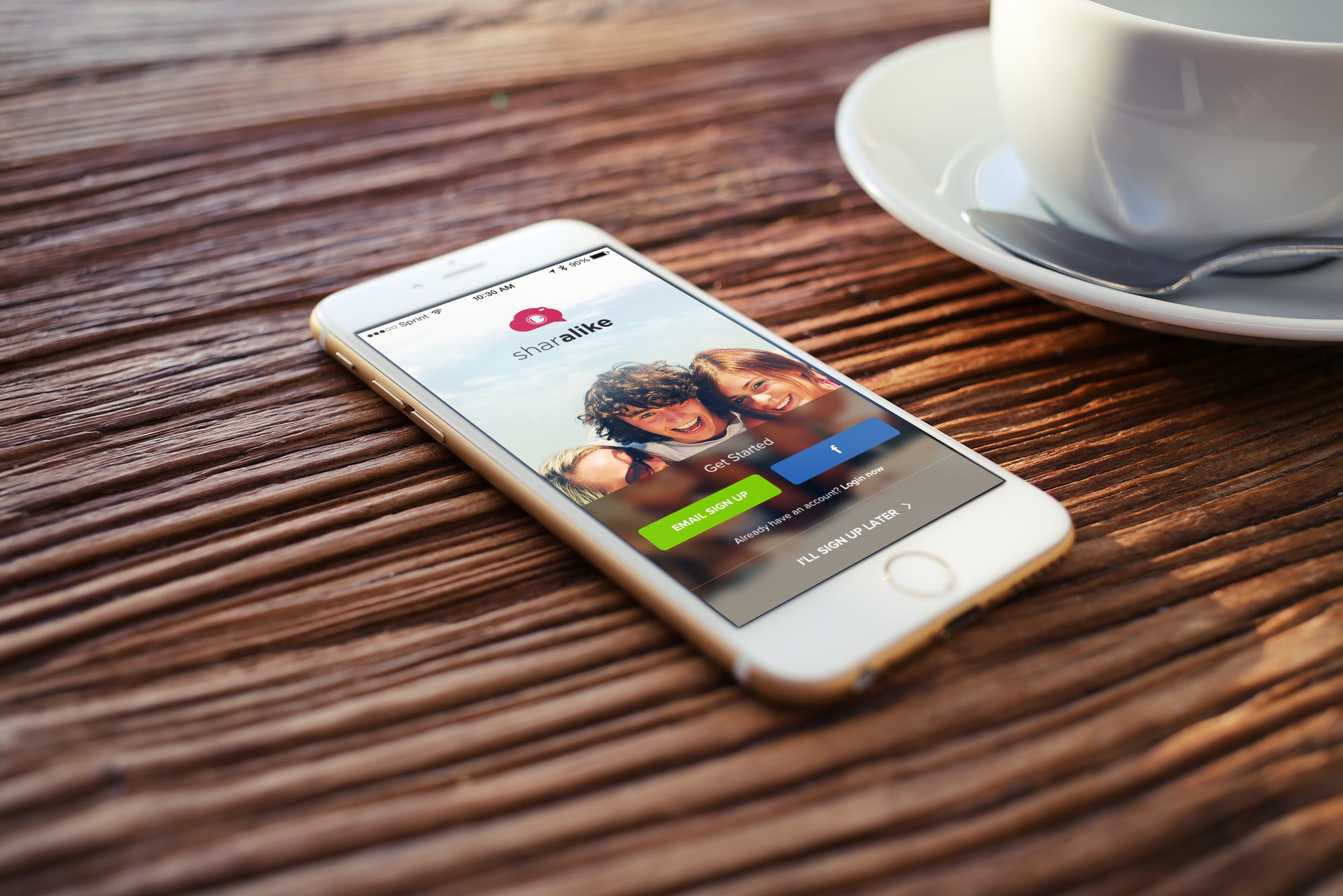 Got photos? Create cool slideshows to share and Sharalike