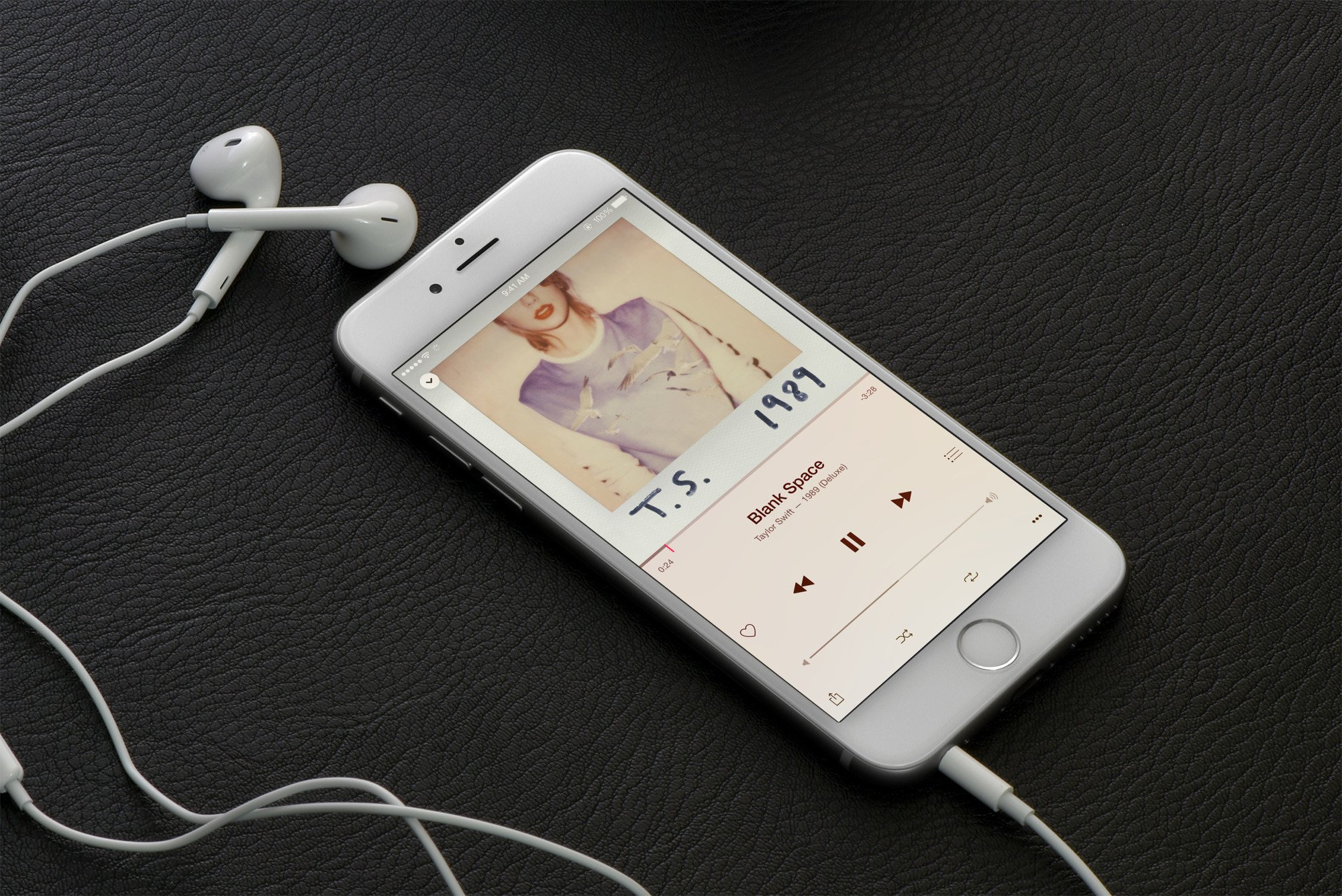 Apple Music Taylor Swift earphones