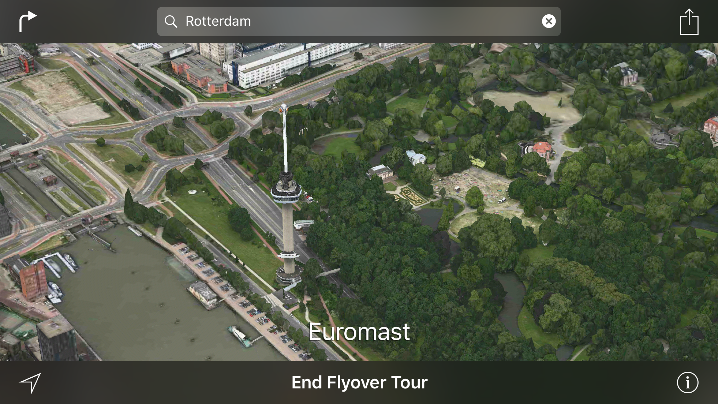 You can now flyover Rotterdam, Budapest and more in Maps