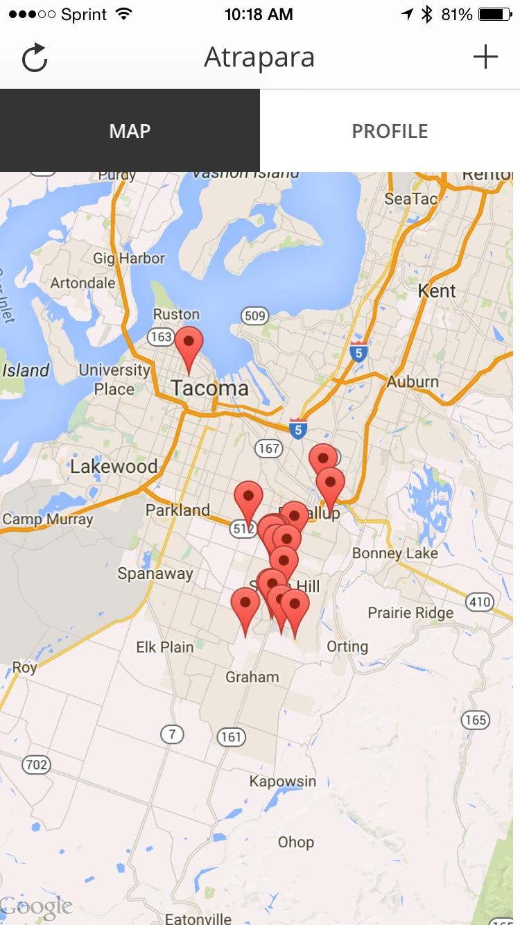 Atrapara Map