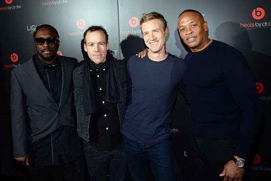 Ian Rogers and Dr. Dre.