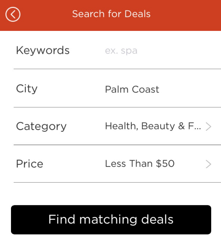 DealsBox Search