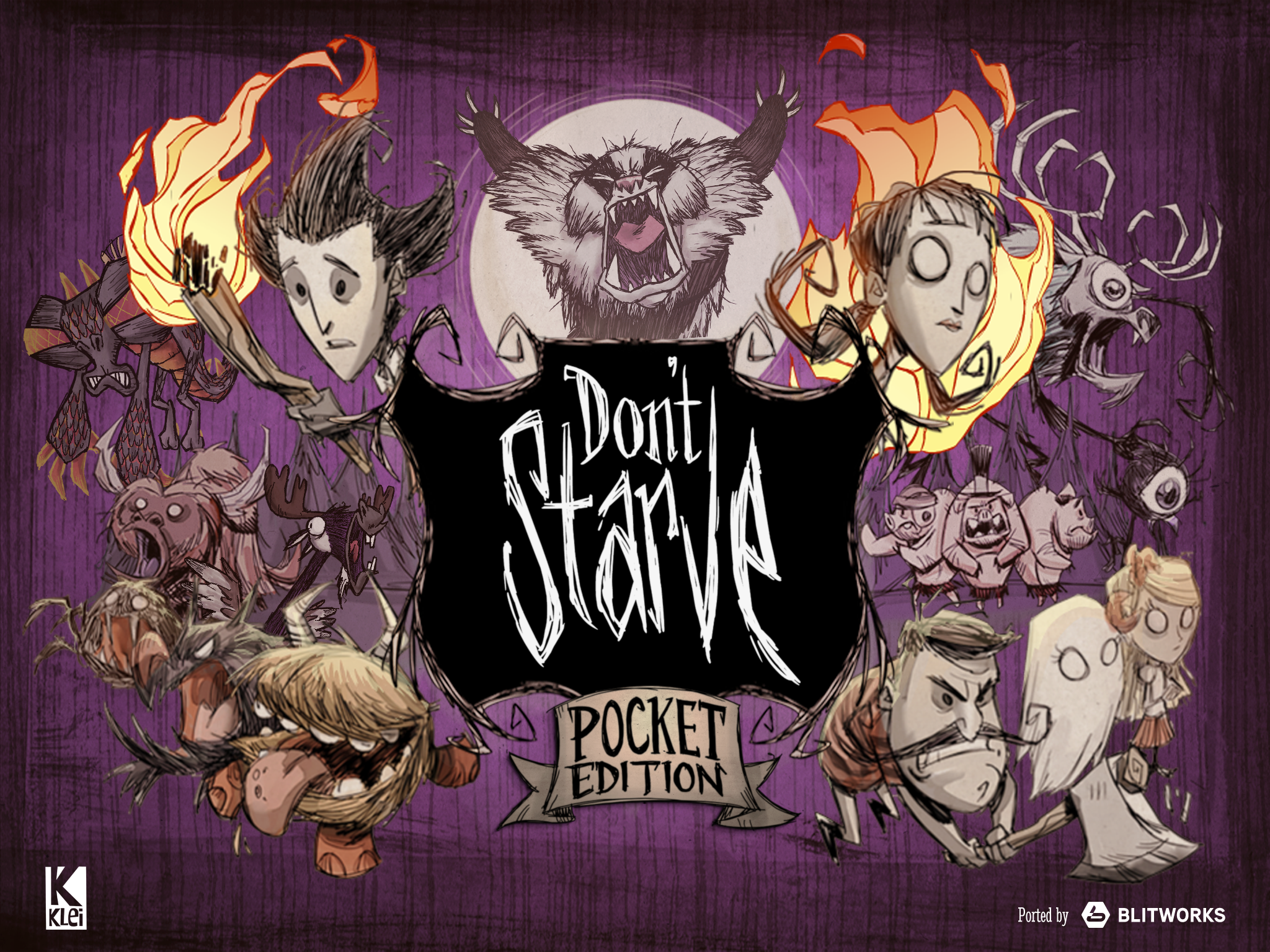 Don't Starve: Pocket Edition dares you to survive