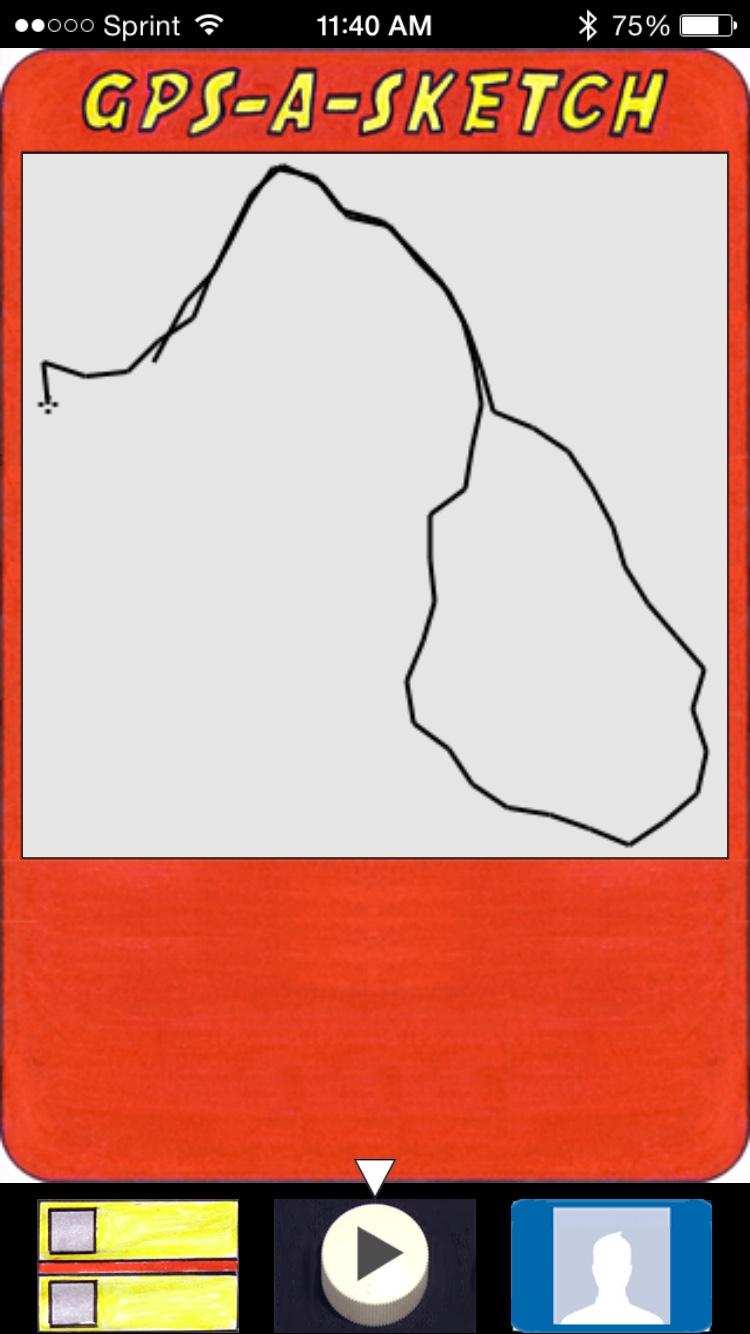 GPS-A-Sketch