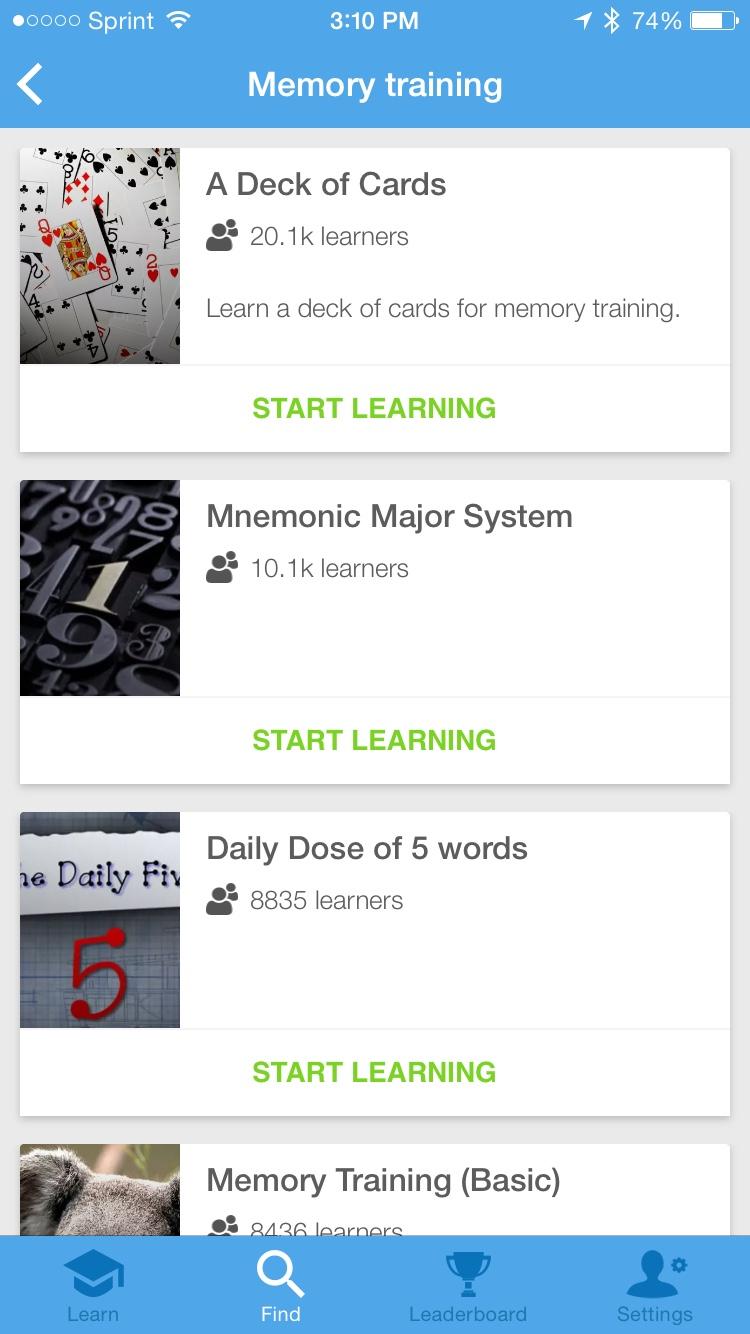 Memrise Memory