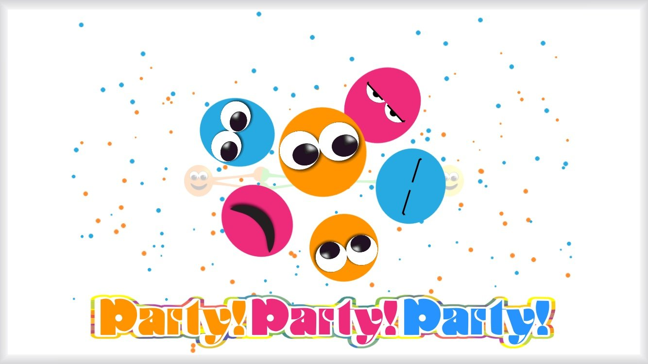 Let's get that Party!Party!Party! started