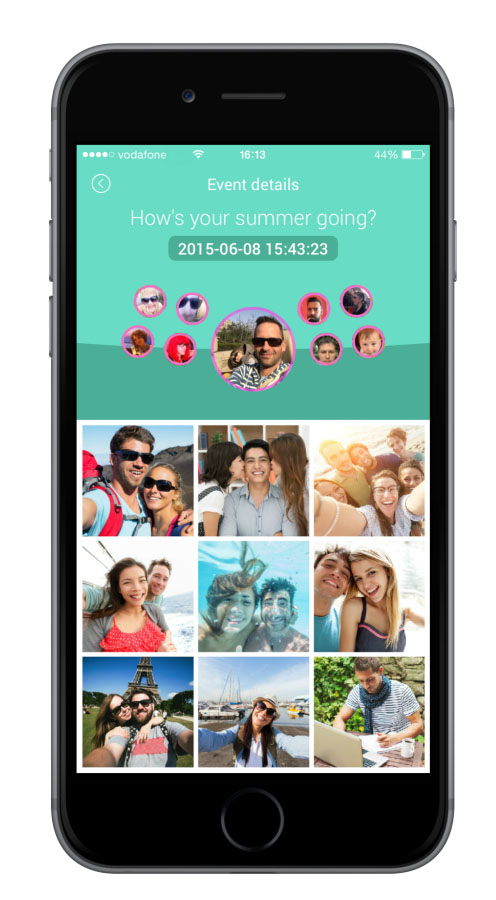 Miss your friends? Meet with a Pixcall and sync photos