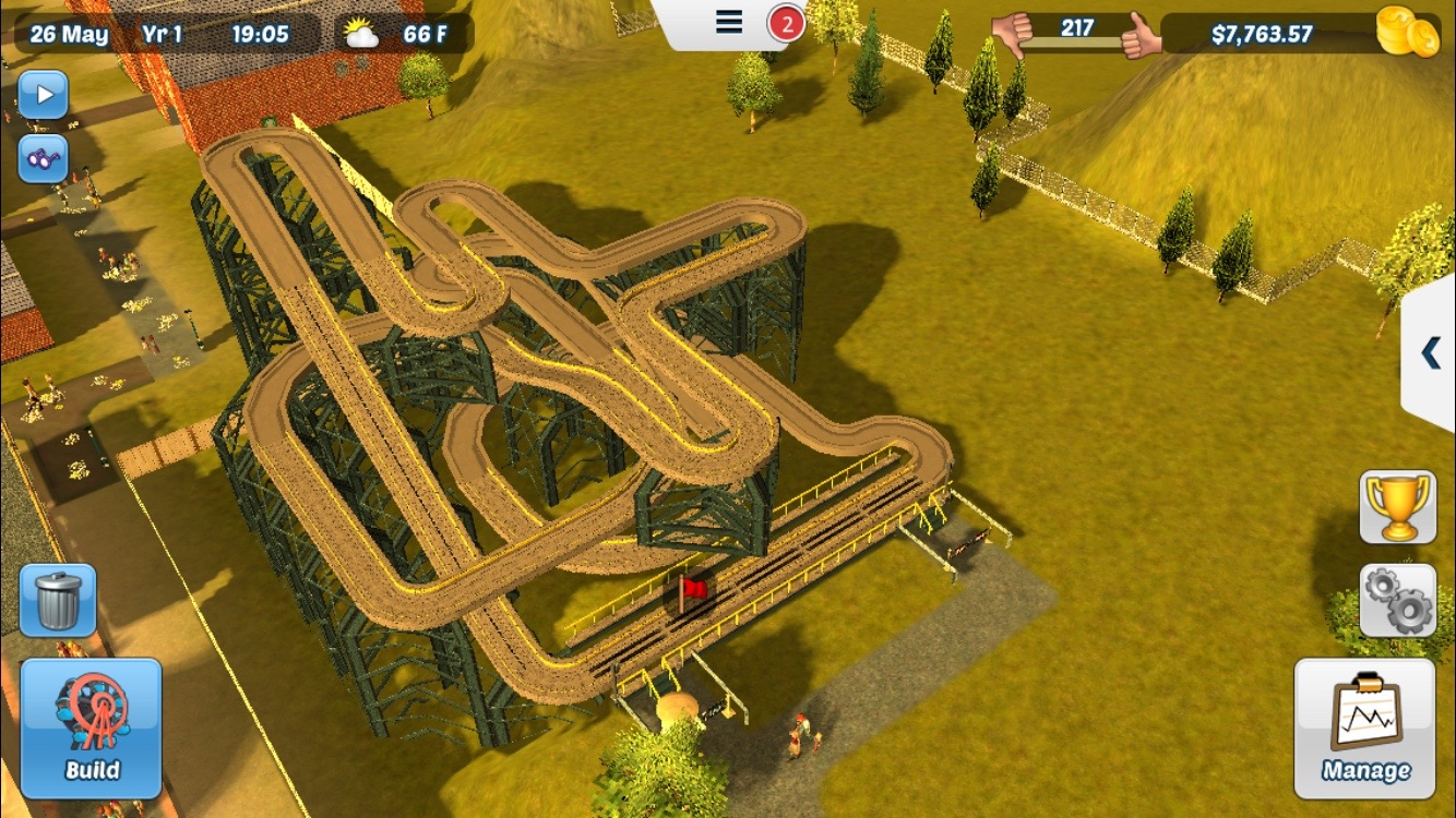 Roller Coaster Building Games Pc S