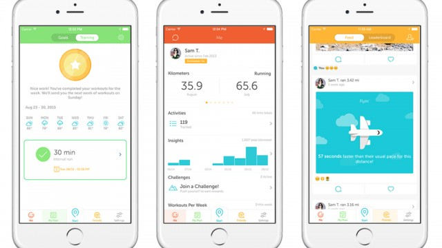 Hit the ground running with the updated Runkeeper app