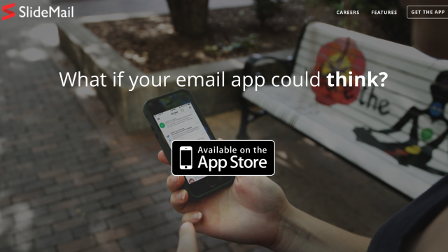 SlideMail is an email client that thinks for itself
