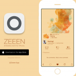 With ZEEEN for Dribbble, your iPhone becomes part of the design