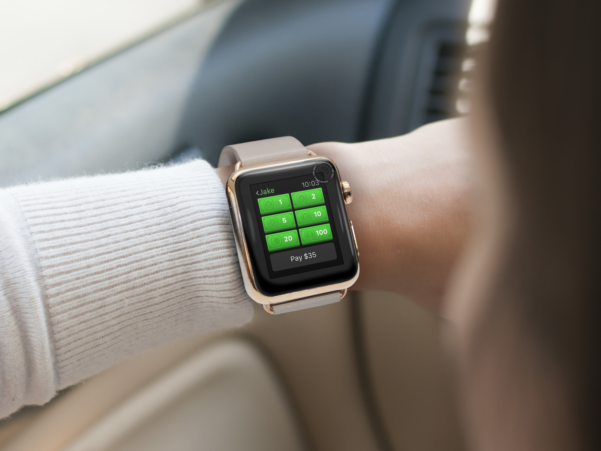 Send and receive money on your Apple Watch with Square Cash
