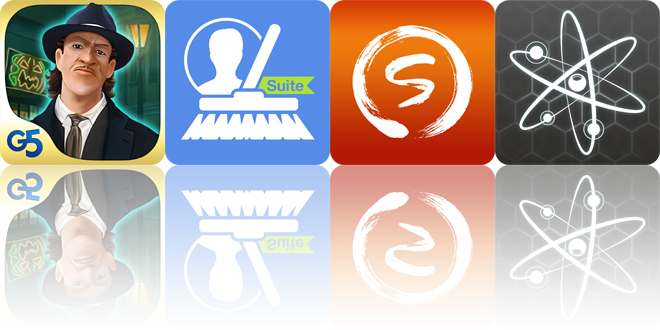 Today's apps gone free: Paranormal Agency, CleanUp Suite, Zen Sketch and more