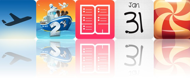Today's apps gone free: Flight, Boom Boat 2, Week Agenda and more
