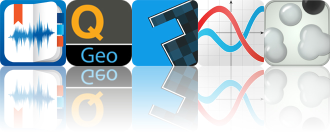 Today's apps gone free: eXtra Voice Recorder, Quickgets Geo, Fixum and more