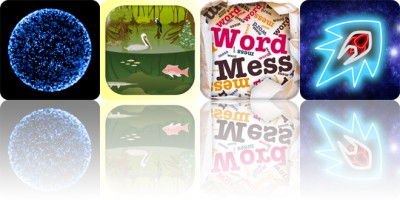 Today's apps gone free: ElectronShock, iBiome, Word Mess and more
