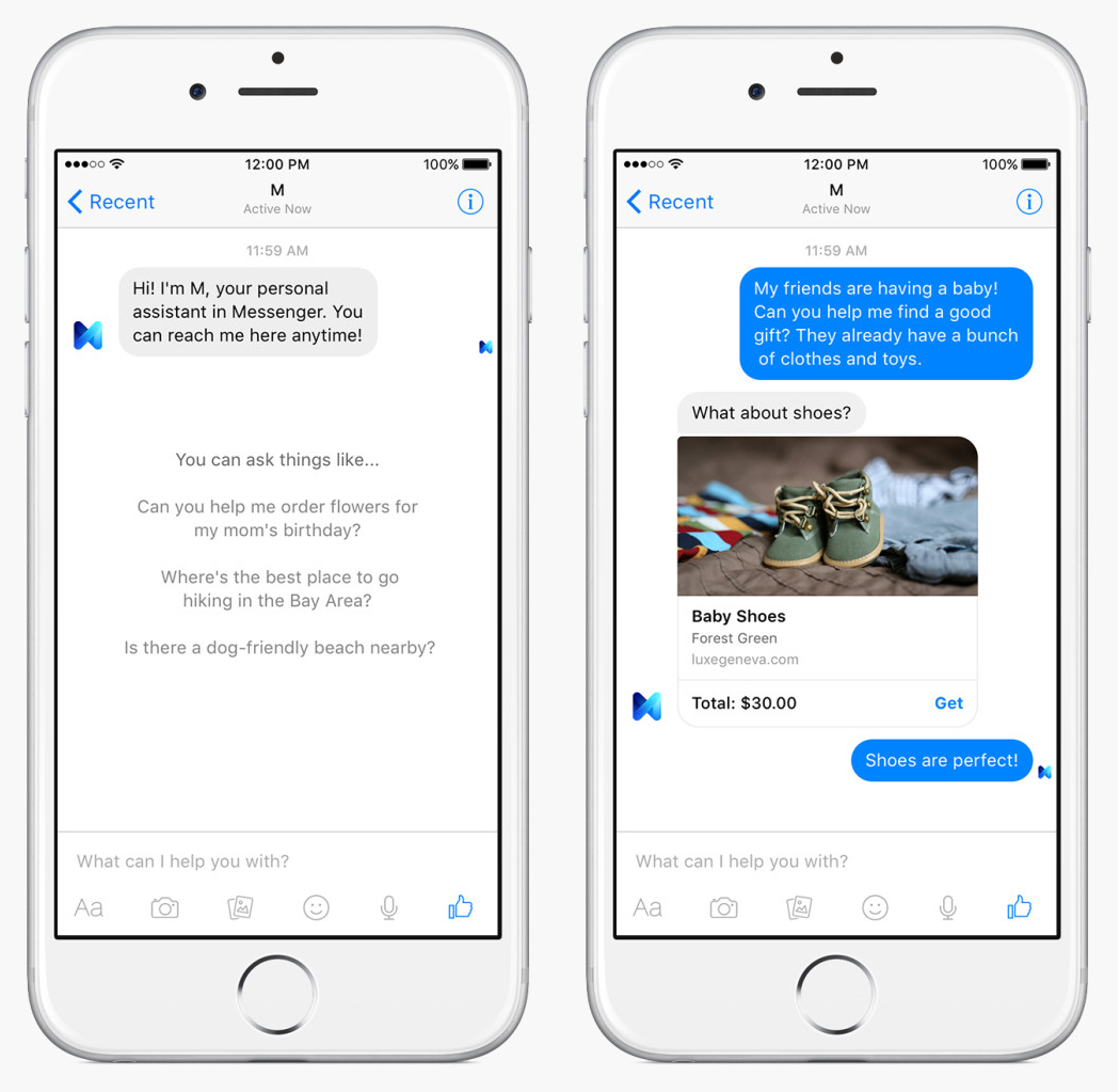 Meet 'M,' Facebook's answer to Siri, built into Messenger