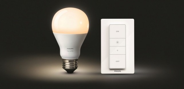 Philips Hue Wireless Dimming Kit.