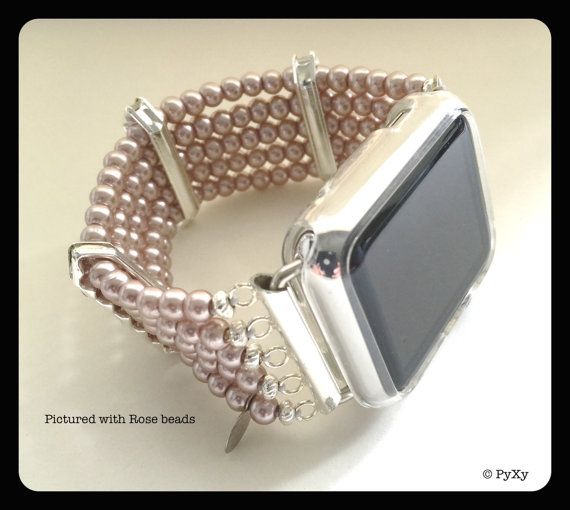 PyXY Beaded Apple Watch Band