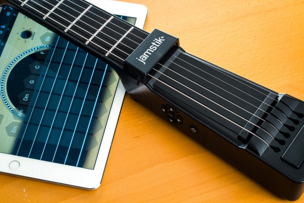 Improve your air guitar game with Jamstik+
