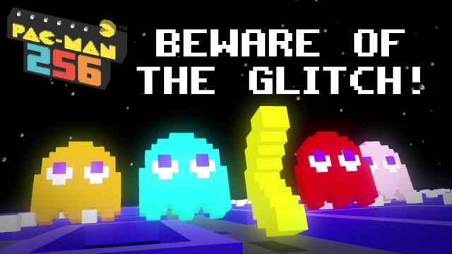 Power up to defeat ghosts and the Glitch in Pac-Man 256