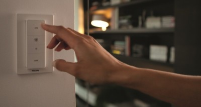Philips launches a HomeKit-compatible Hue dimmer switch
