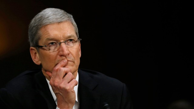 Apple stock price falls below $100