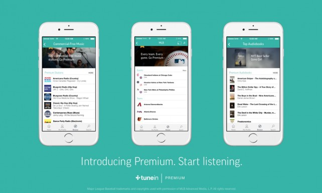 Step up to the plate with TuneIn's new Premium tier