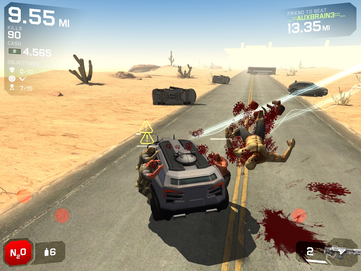 Zombie Survival Car Game