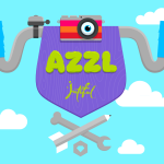 Get ready to giggle with the new animated puzzler AZZL