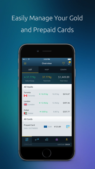 BitGold for iPhone.