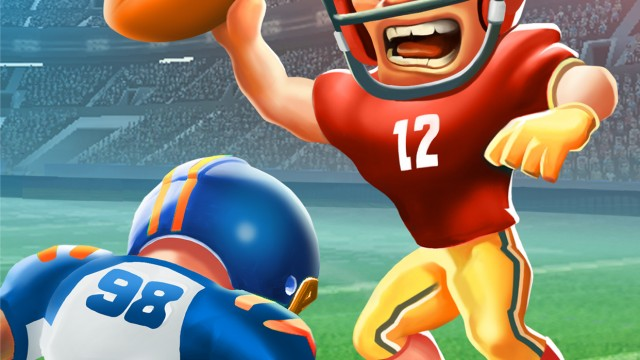 No flag on the play with Boom Boom Football, just clean fun