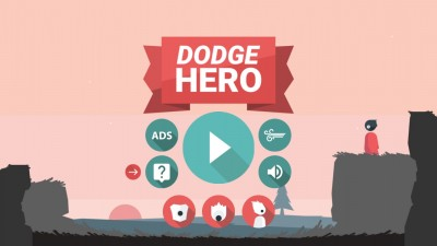 Watch out for lasers and fireballs, be the Dodge Hero