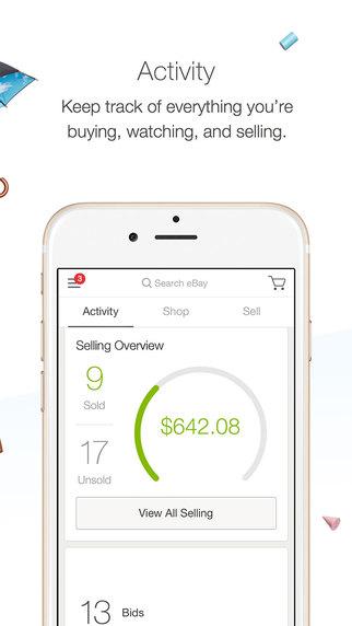 eBay Activity