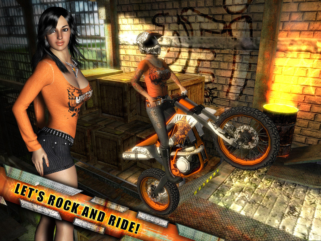 It's a rocky road in Rock(s) Rider HD for iOS