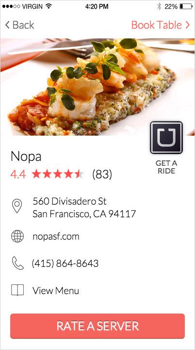 Grate Restaurant Profile